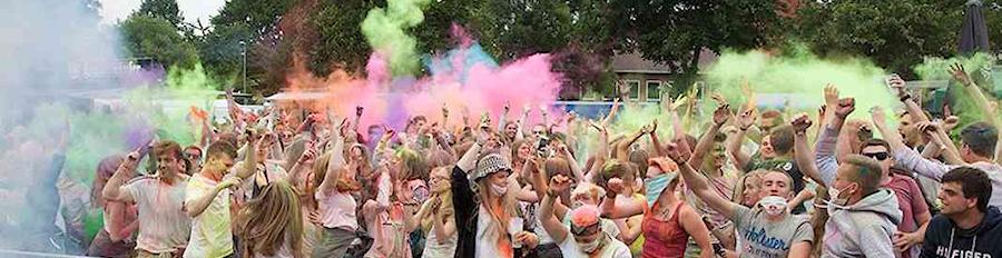 Farbenfroher Spaß - Einfach nur Freude rauslassen